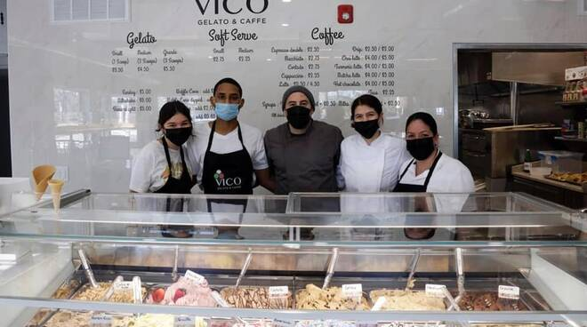 """Vico Equense, in America il ristorante """"La Sorrentina"""" e la gelateria """"Vico"""" della famiglia Vanacore"""