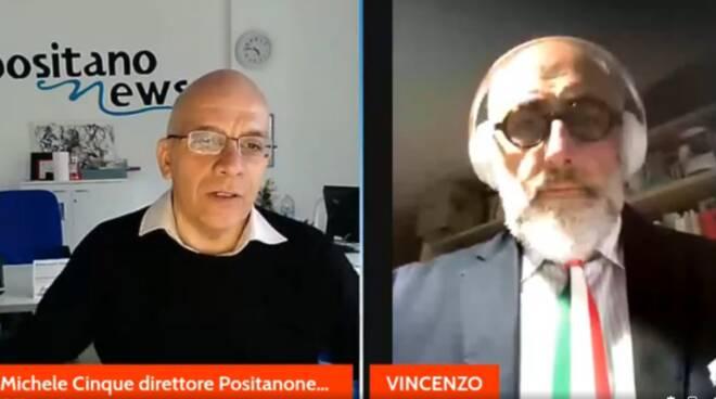 Vincenzo Naclerio con Positanonews
