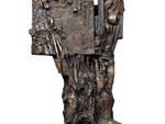 4 - Giuseppe Pirozzi, Rappresentazione verticale, bronzo fuso a cera persa, esemplare unico,  2006