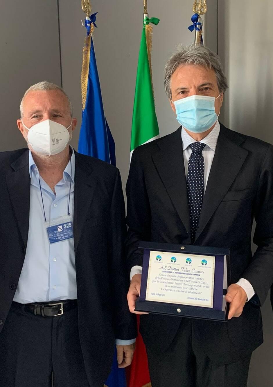 Atex, l'incontro con l'Assessore Regionale al Turismo Felice Casucci