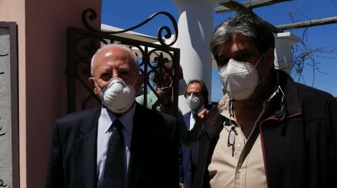 Capri: Atex incontra il Presidente De Luca e annuncia il servizio di tamponi a domicilio