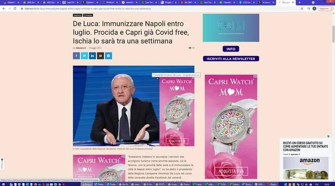 """Capri, Silvio Staiano: """"Bisogna proteggerla, non usarla per la propaganda politica!"""""""