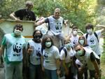 Attivisti del WWF Terre del Tirreno alla Sperlonga per Plastic Free e Liberiamo i Fiumi