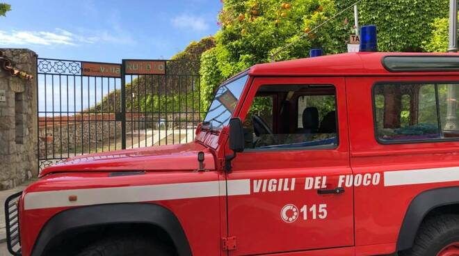 A Villa Rufolo intervento dei Vigili del Fuoco per salvare un gattino