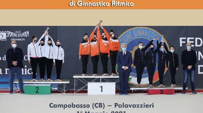Ginnastica, Cava dè Tirreni sul podio interregionale con la Juvenilia