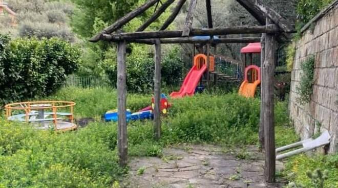 Priora, bambini senza parco giochi