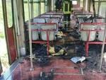 """Castellammare di Stabia, il sindaco Cimmino: """"Solidarietà ai passeggeri del treno della Circum andato in fiamme"""""""