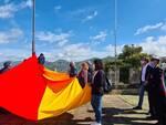 Cava de' Tirreni, alzata la bandiera della Città di Cava de' Tirreni su Monte S.Adiutore