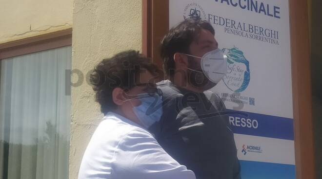 Continuano i vaccini per i lavoratori del turismo a Sorrento: in Penisola circa mille somministrazioni al giorno