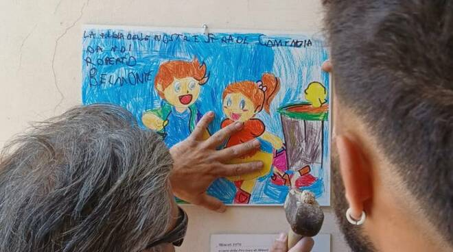 """Dai bambini di Minori un appello """"disegnato"""" per l'ambiente"""