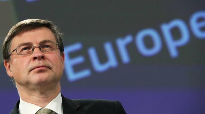 """Dombrovskis: """"I primi fondi Recovery a luglio, poi a fine anno"""""""