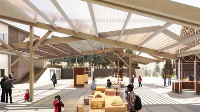 EAV - Una nuova piazza per il Monte Faito