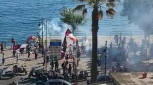 Festa per la Salernitana in A a Maiori e Positanonews in diretta