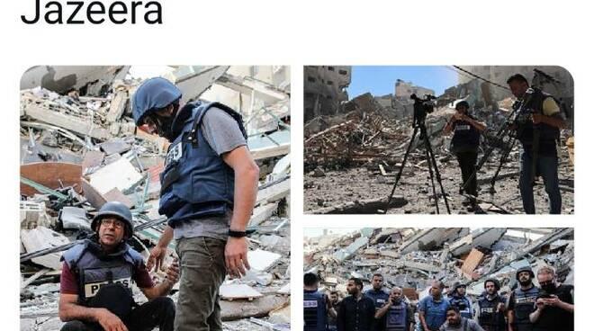 Giornalisti Gaza