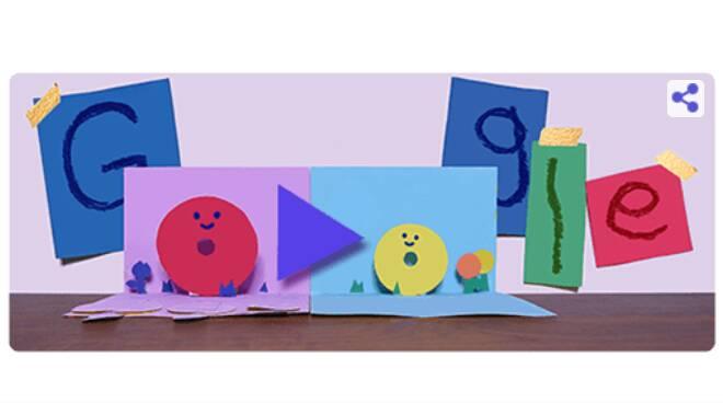 Google di Doodle: oggi festeggia le mamme!