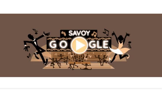 Il Doodle di Google di oggi festeggia lo swing e Savoy Ballroom!