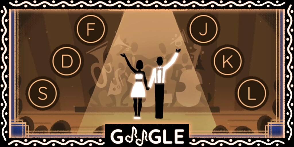 Il Doodle di Google di oggi festeggia lo swing ed il Savoy Ballroom!