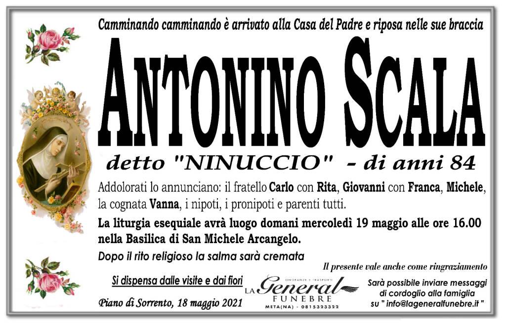 """Lutto a Piano di Sorrento: si è spento Antonino Scala detto """"Ninuccio"""""""
