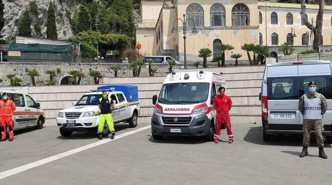 Maiori, dal 20 maggio l'Usca si trasferirà a Tramonti, fino al 31 maggio attivo il centro vaccinale a Palazzo Mezzacapo