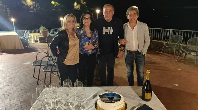 Maiori, Maurizio Castori e la moglie alla Torre Normanna