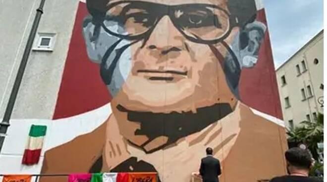 Marcello Torre murales di Jorit