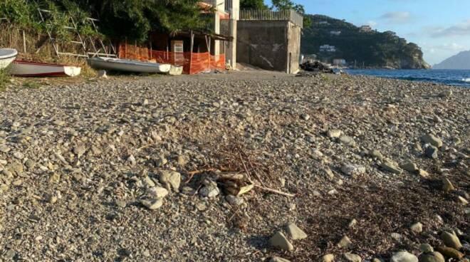 Massa Lubrense, lavori in corso in località Riviera di San Montano. Interrogazione di La Mura: «Verificare eventuali abusi edilizi»