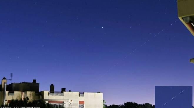 Missile cinese nei cieli di Roma
