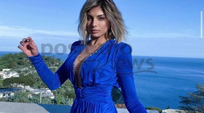 Nerano, Villa Marianna meta di bellezze della televisione, Giulia Cavaglià