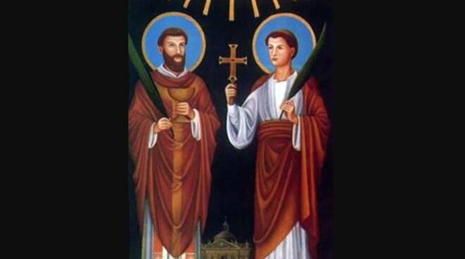 Oggi la Chiesa festeggia i Santi Marcellino e Pietro