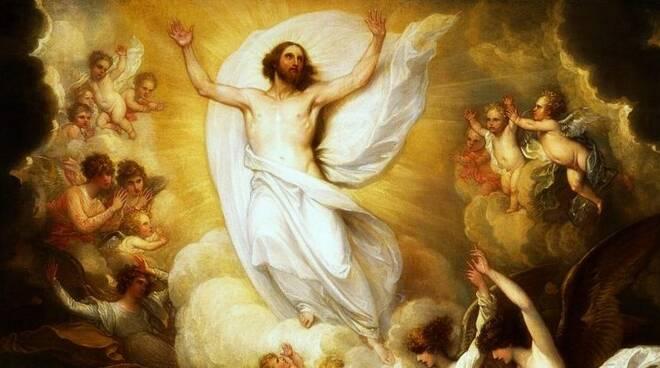Oggi la Chiesa festeggia l'Ascensione di Gesù