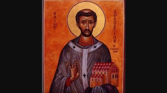Oggi la Chiesa festeggia Sant' Agostino di Canterbury