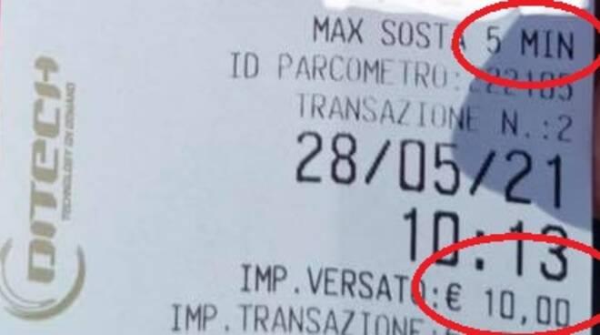 parcheggio amalfi 10 euro 5 minuti