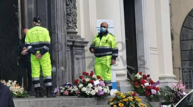 Piano di Sorrento, i funerali del Dott. Paolo Castellano