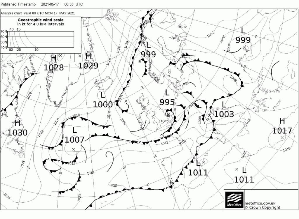"""Piano di Sorrento, il meteo del Nautico """"N.Bixio"""" per Positanonews: leggera instabilità fino a giovedì"""