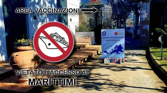 """Piano di Sorrento, vietato l'accesso ai marittimi al centro vaccinale. Salvatore Mare: """"Nelle liste la Gente di Mare è come non esistesse"""""""
