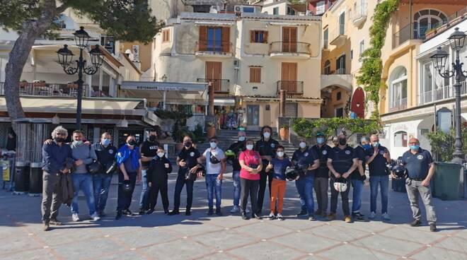 Positano accoglie il Club Moto Sordi Campania!