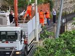 Positano caos per i lavori dell'Ausino bloccato traffico per Montepertuso
