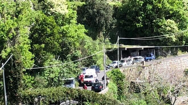 Positano: incidente in zona Acquolella, sul posto vigili e 118
