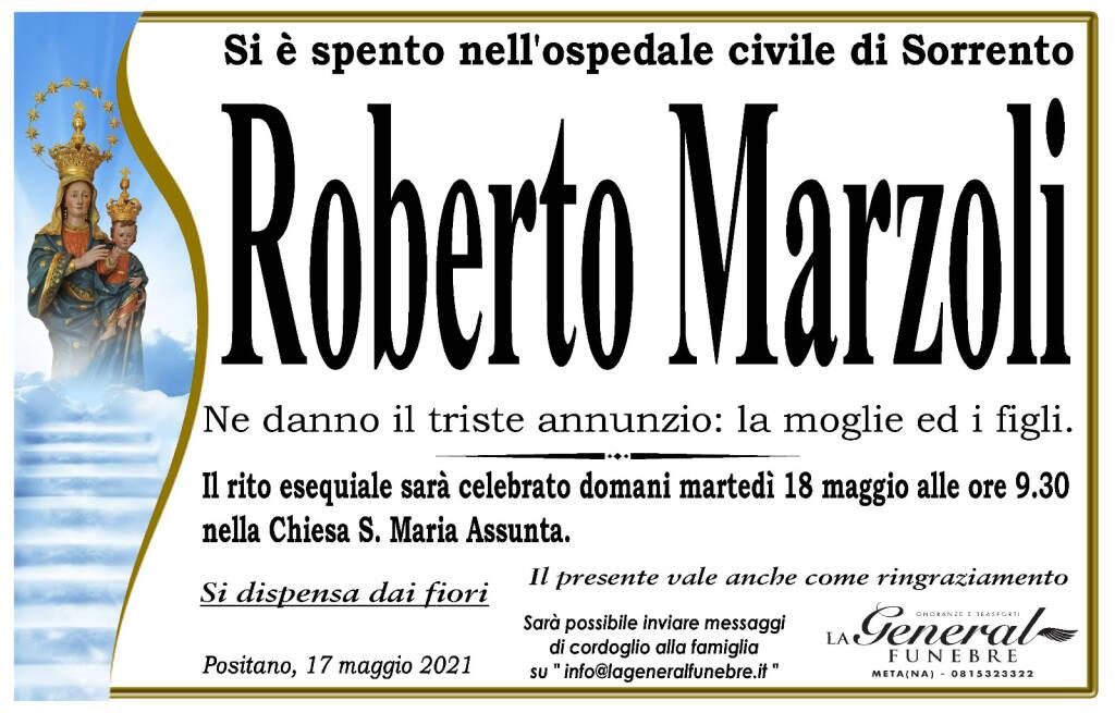 Positano piange la scomparsa di Roberto Marzoli
