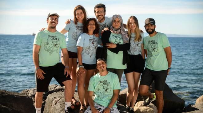 Punta Campanella, ecco i nuovi volontari internazionali del Project Mare Nona edizione