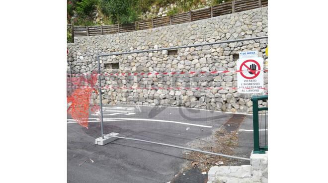 Ravello, ancora interdetta la rampa di Via Boccaccio mentre proseguono i lavori all'auditorium