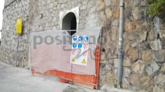 Ravello, continuano i lavori per la realizzazione dei bagni pubblici a Castiglione