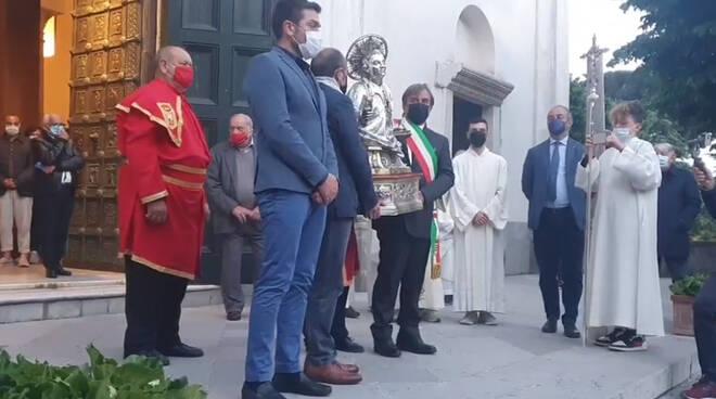 Ravello ha ricordato la traslazione della reliquia del patrono San Pantaleone