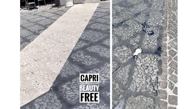 """Roberto Bozzaotre: """"La passerella di cartone alla Marina è la prima immagine di Capri beauty free"""""""