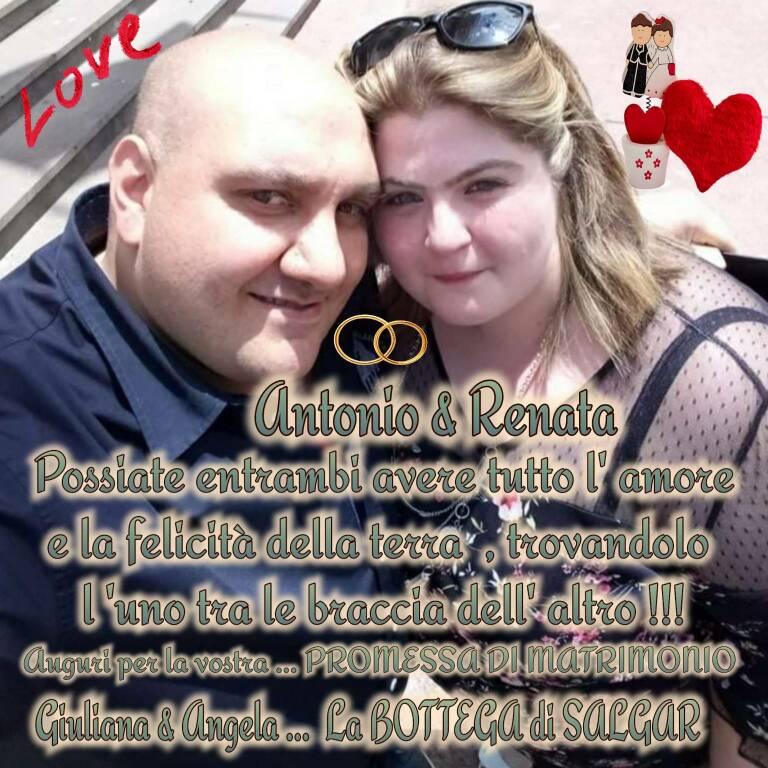 Sant'Agnello, auguri ad Antonio Castellano e Renata Fidesser per la loro promessa di matrimonio!