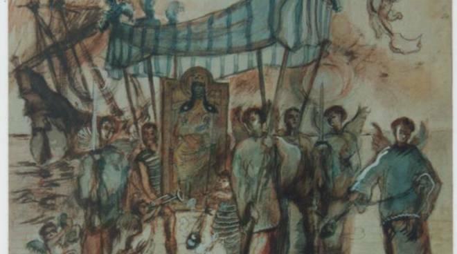 Sbarco dei Saraceni a Positano