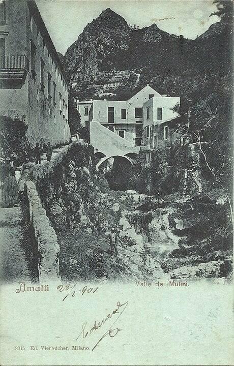 Sigismondo Nastri continua il suo racconto su Amalfi sparita: «'A via 'e coppa e 'a via 'e vascio»