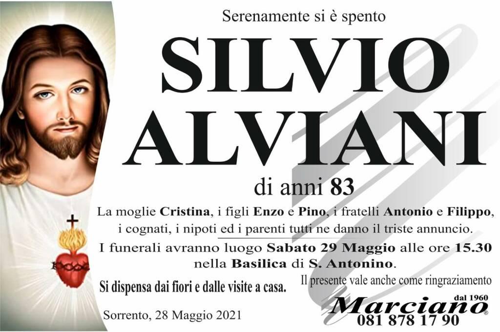 Sorrento, addio all'83enne Silvio Alviani