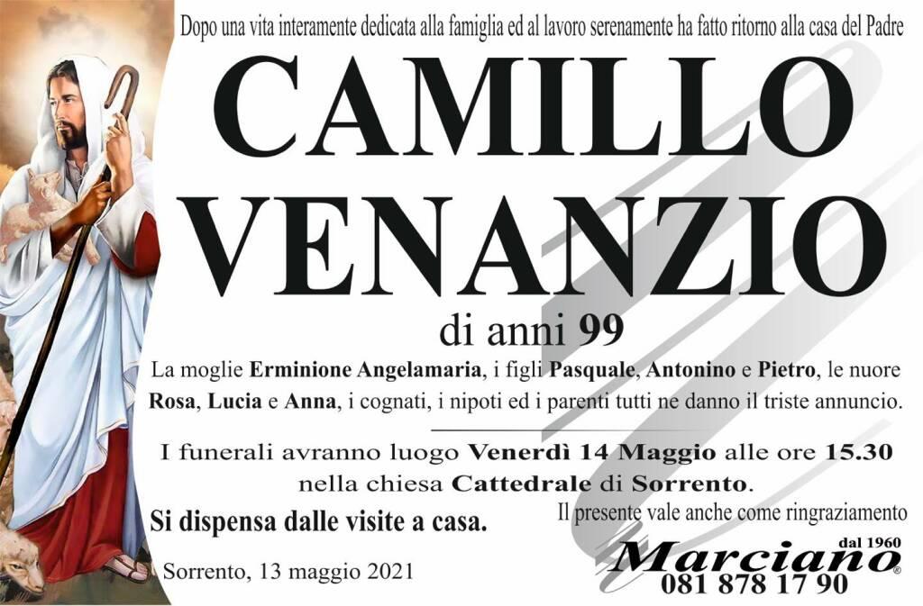 Sorrento, all'età di 99 anni ci lascia Camillo Venanzio