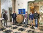 Sorrento, esposto a Villa Fiorentino il dolio di epoca romana rinvenuto durante i lavori di costruzione della rete del gas